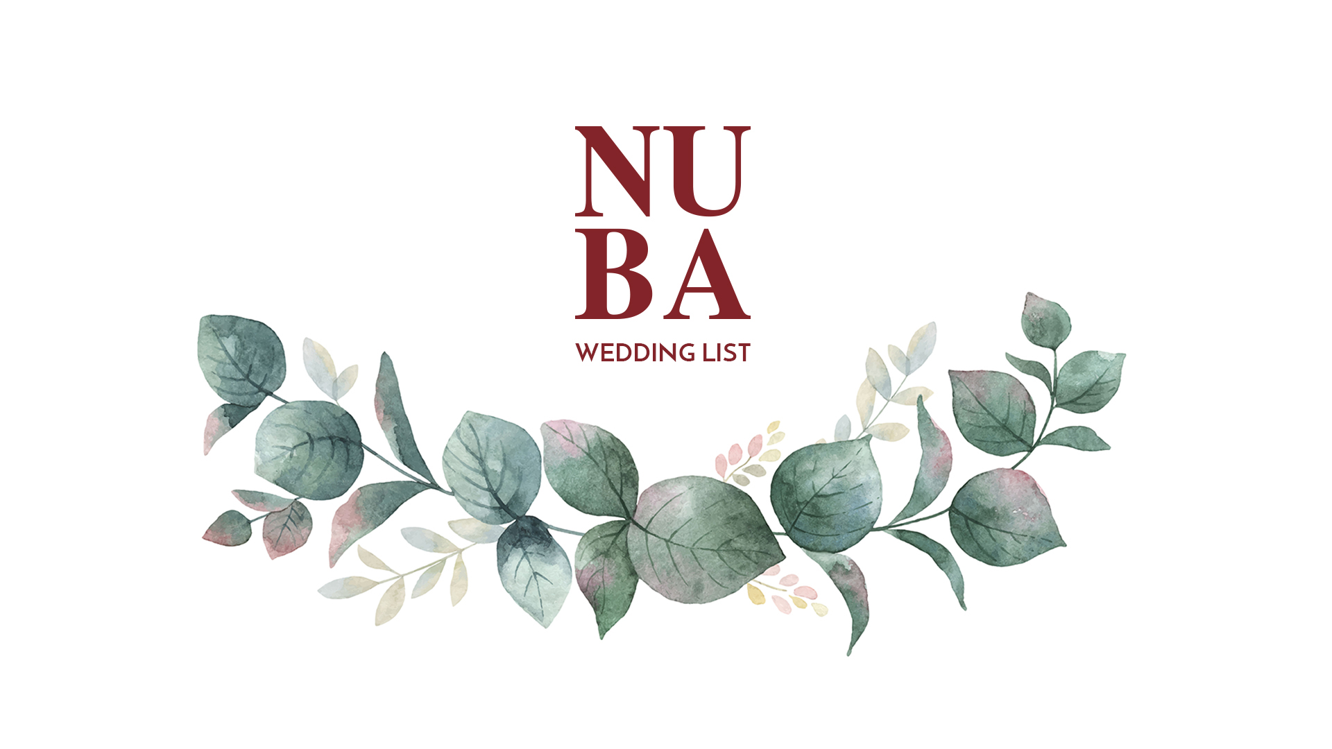 NUBA, Wedding List OnLine