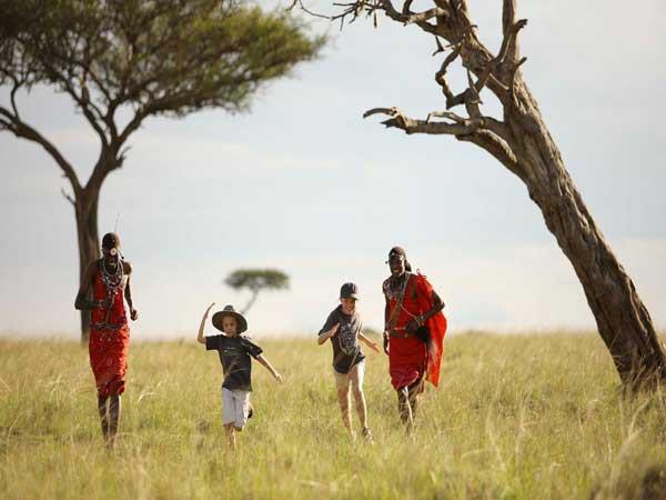 Nuba Safaris en familia