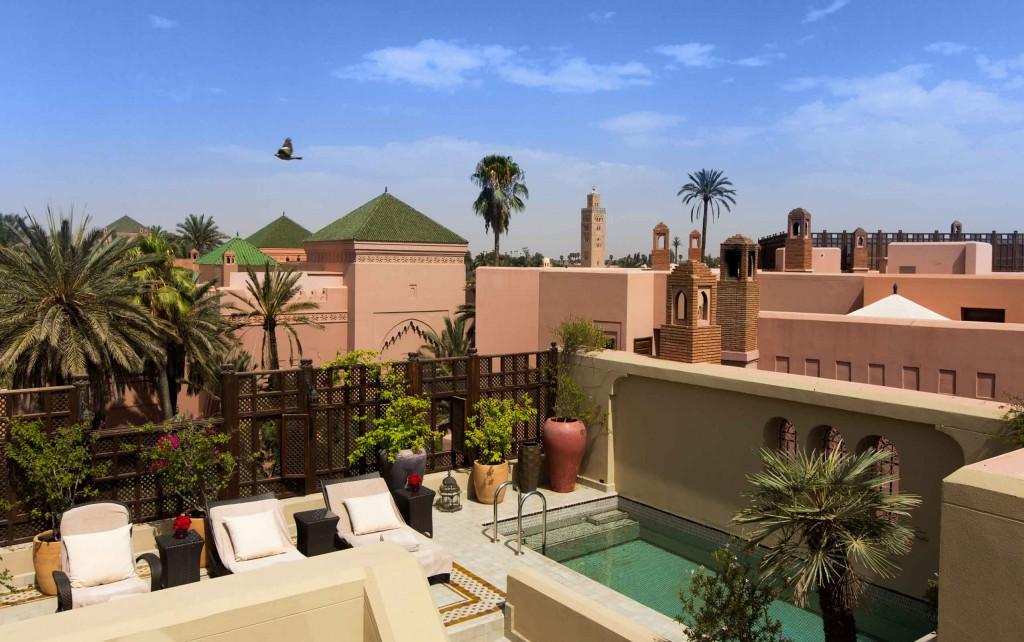 Vistas desde el Riad