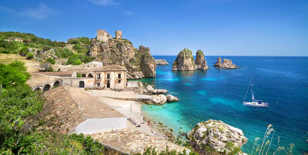 Tonnara di Scopello en Sicilia