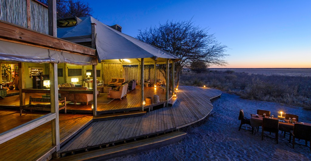 Glamping en Botswana con NUBA