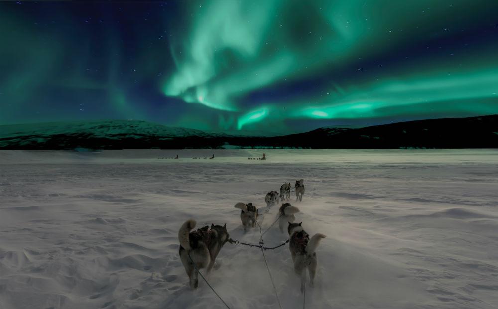 finlandia laponia nuba aurora boreal