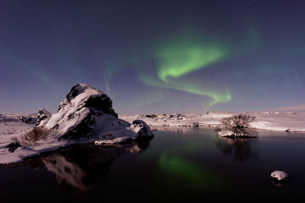 Islandia aurora boreal nuba