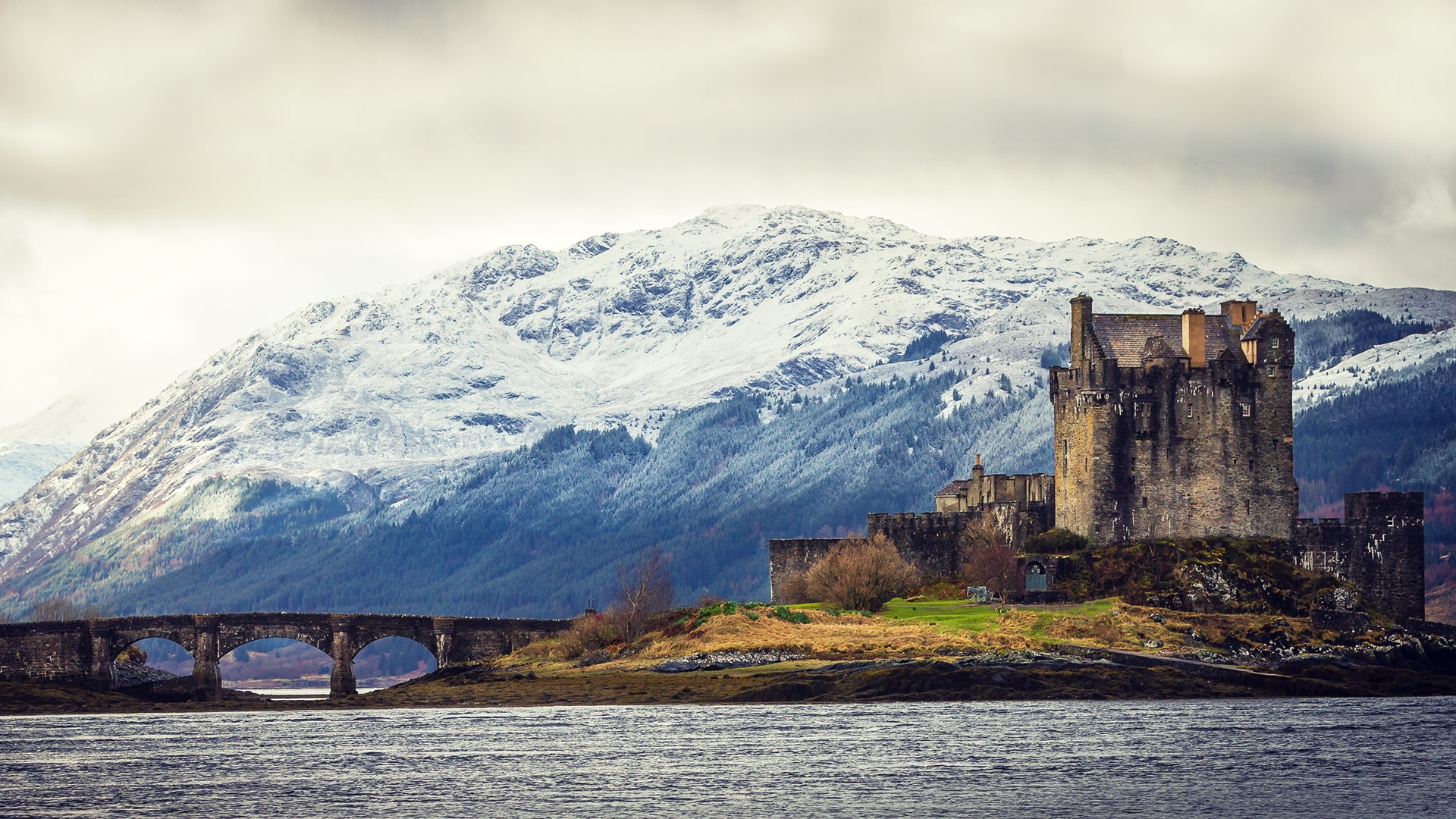 El paisaje de Escocia