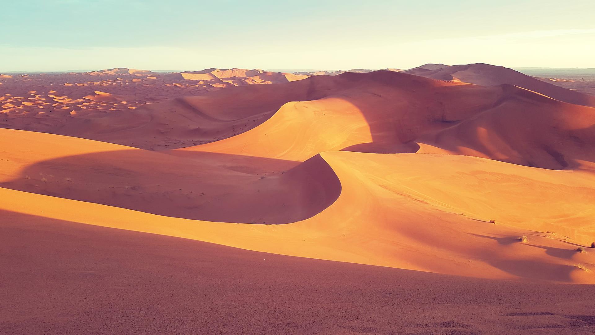 El desierto de Marruecos