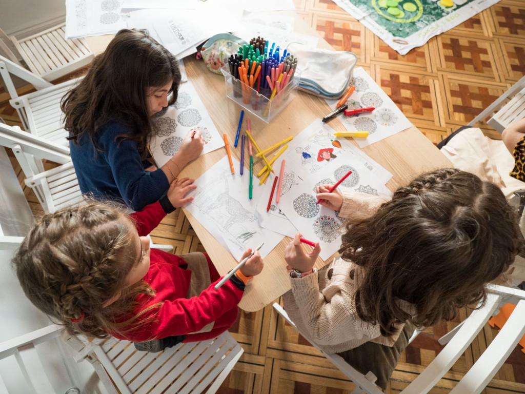Sala Kids de los pequeños exploradores