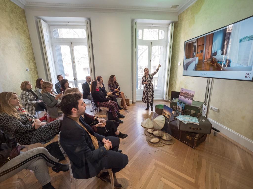 Presentaciones de los Diseñadores de Viaje NUBA