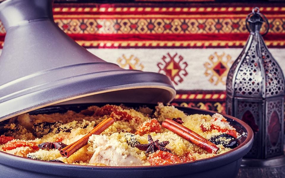 Cena mística en Marruecos
