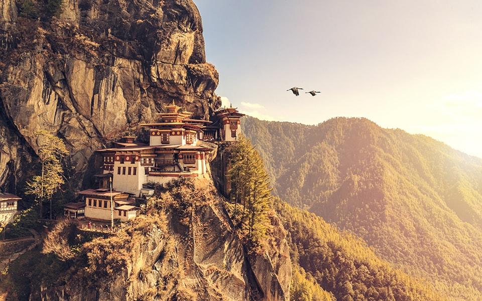Ceremonia en Bután