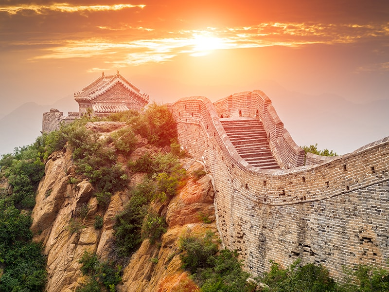 China. The Great Wall of Huanghuacheng