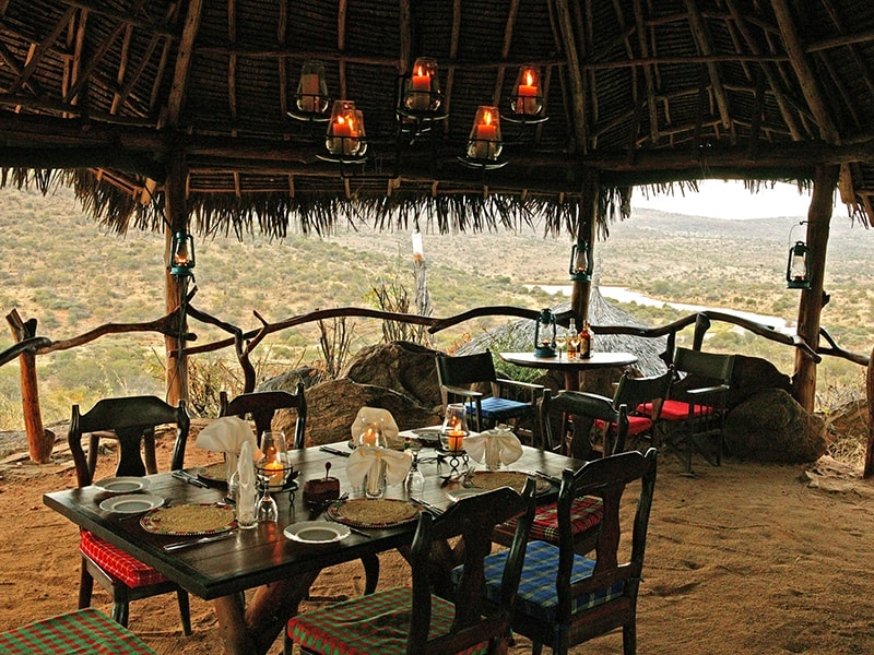 Kenya. Glamping at amazing lodges and luxury tents