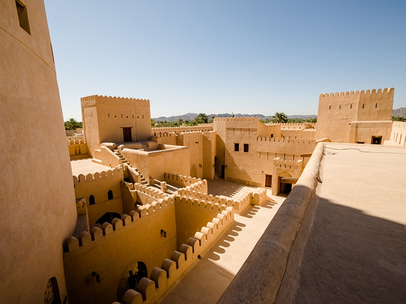 Oman. Discover the magical towns of Al Hamra and Nizwa