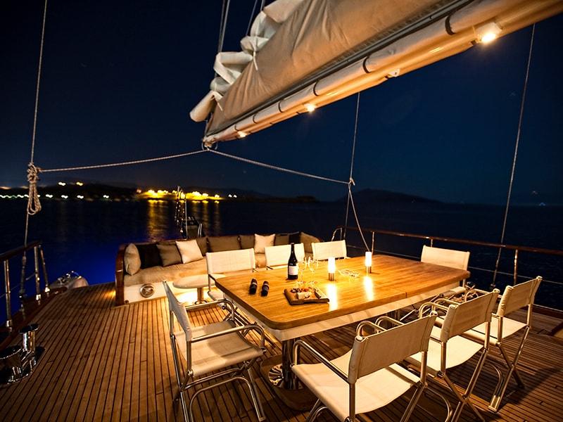 Beaches of Asia. Enjoy a romantic dinner