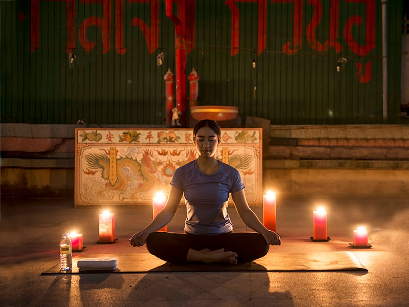 Thailand. Connect body and mind in a private yoga class