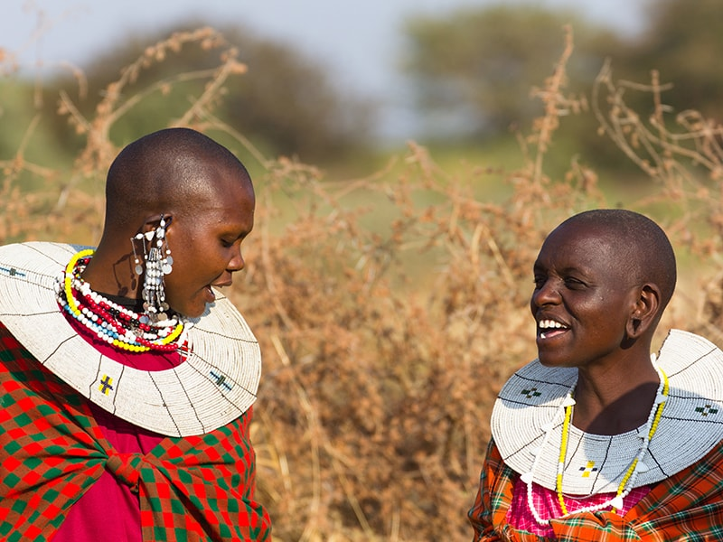 Tanzania. The Masai tribal