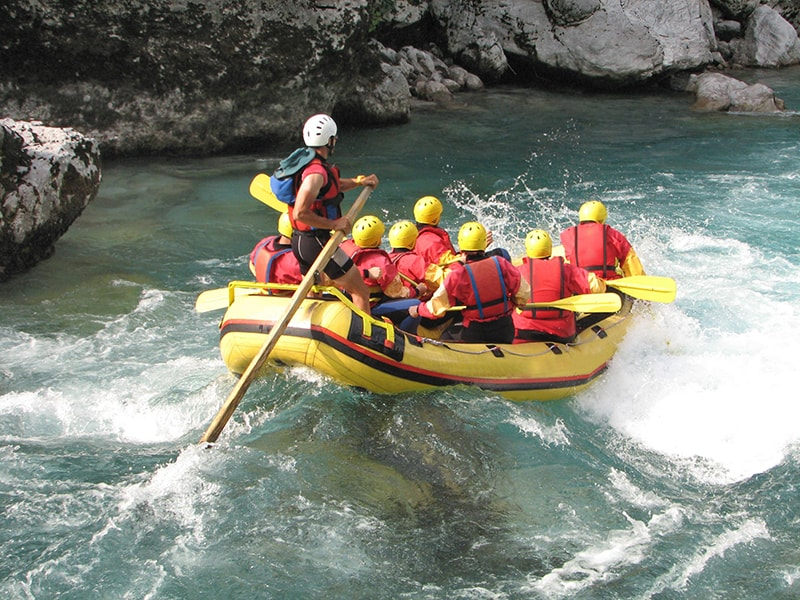 Tibet and Nepal. Family rafting