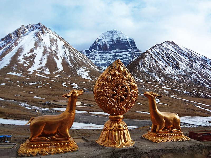 Tibet and Nepal. Trekking day to Mount Kailash
