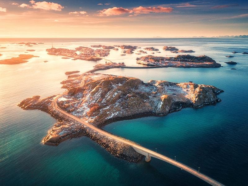 Ártico Noruego. Pasar la noche en una isla privada de las Islas Lofoten