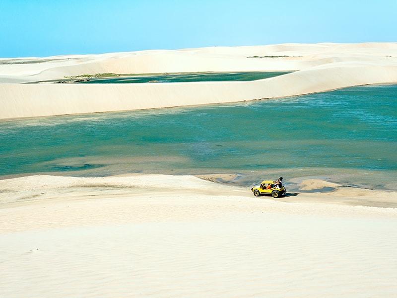 Brazil. 4-wheel-drive tour through the Lençois Maranhenses National Park