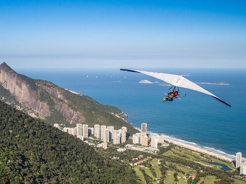 Brazil. Hang gliding