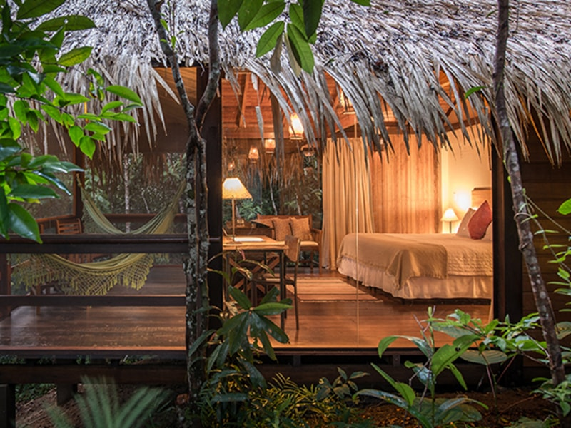 Brazil. Sleep in the middle of the Amazon rainforest