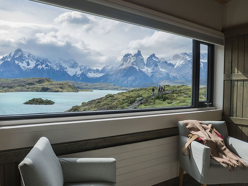 Chile. Accommodation with views