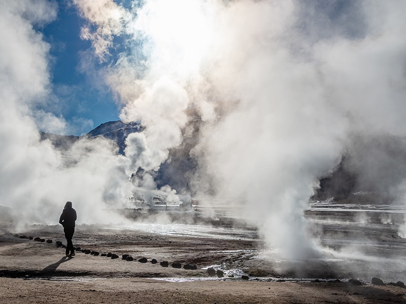 Chile. Recorrido por las altas cumbres de la cordillera de Los Andes