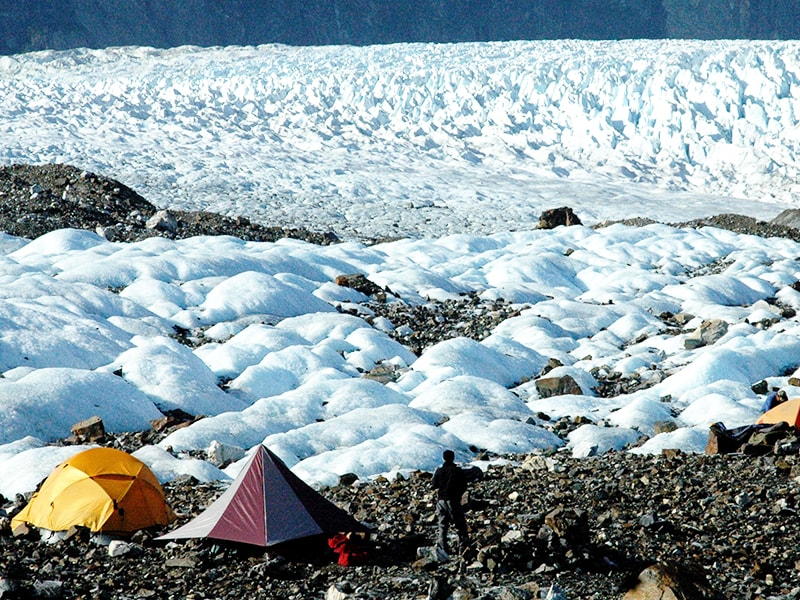 Chile. Admire the beauty of nature staying in a luxury ice camp