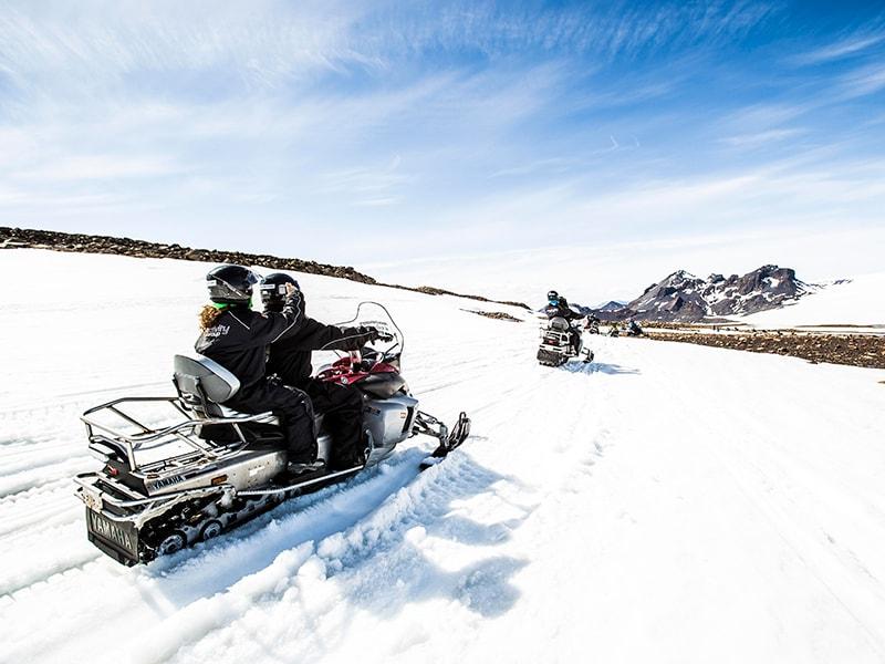 Iceland. Trekking on ice