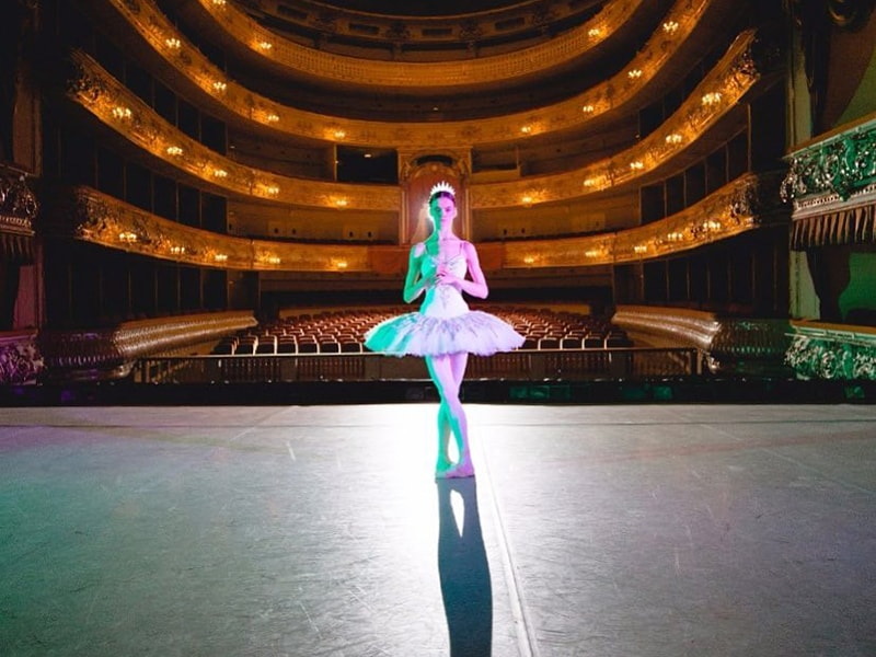 Russia. Visit the elegant Mikhailovsky Theater