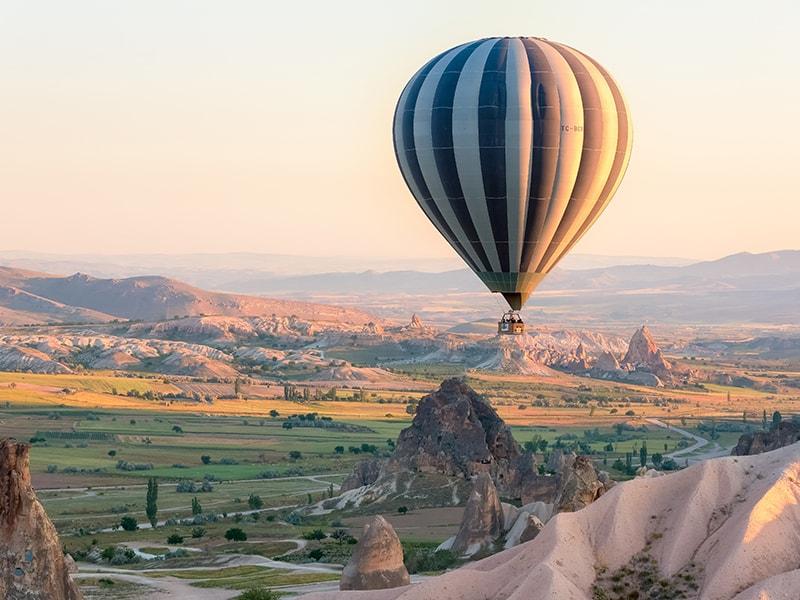 Turquía. Amanecer en globo