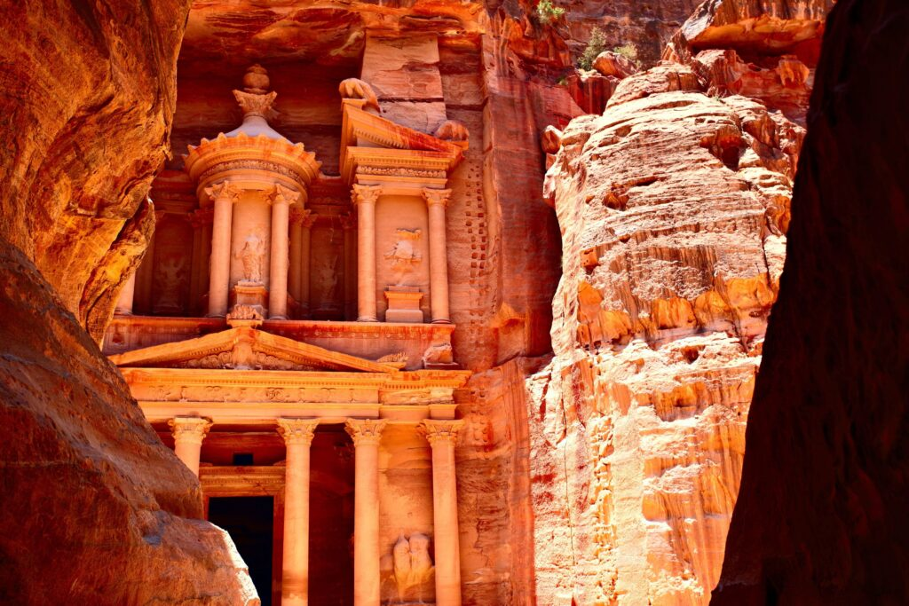 jordania, petra, nuba
