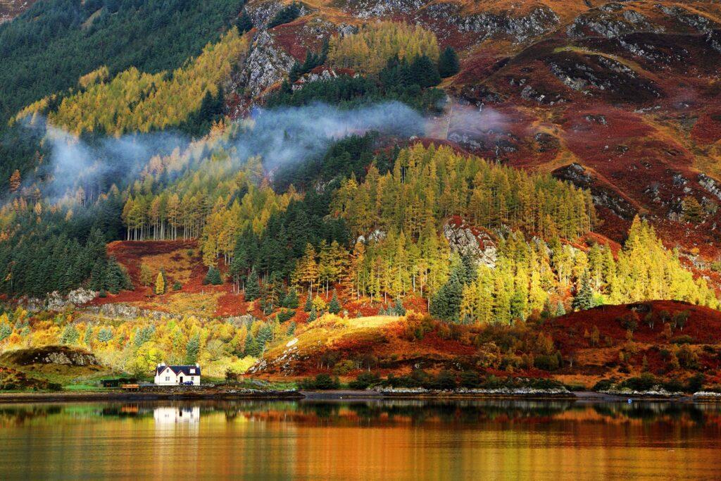 Desubre con NUBA lugares idílicos para viajar en otoño