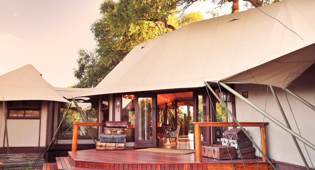 Tented Camp en Sudáfrica
