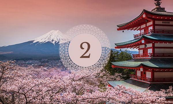 Ranking Nuba. Japón