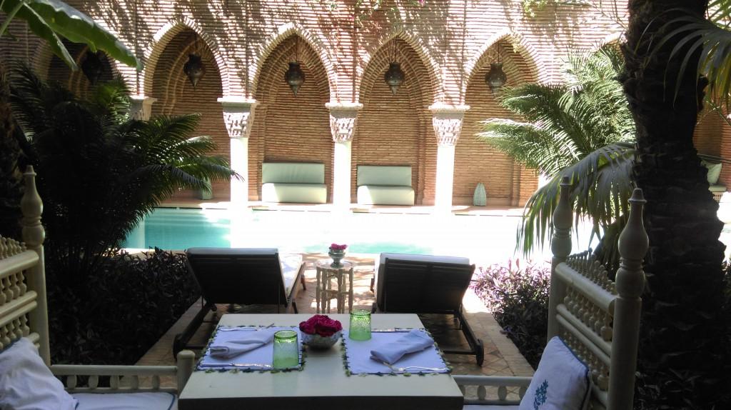 Almuerzo en La Sultana