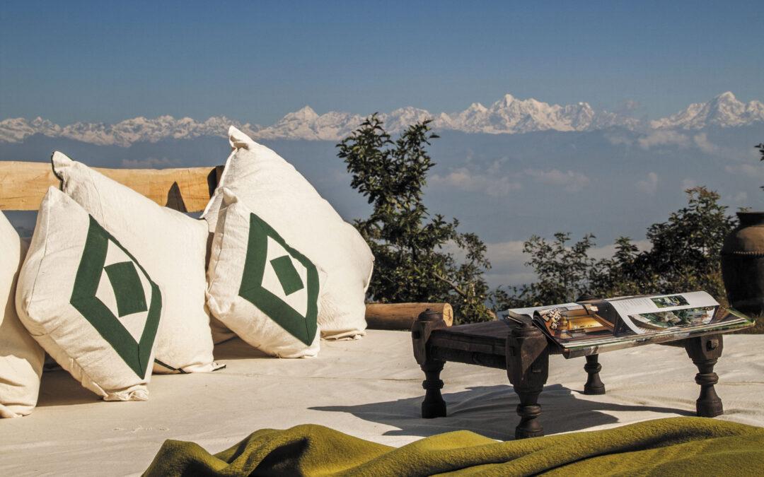 Amanece un nuevo día en Nepal