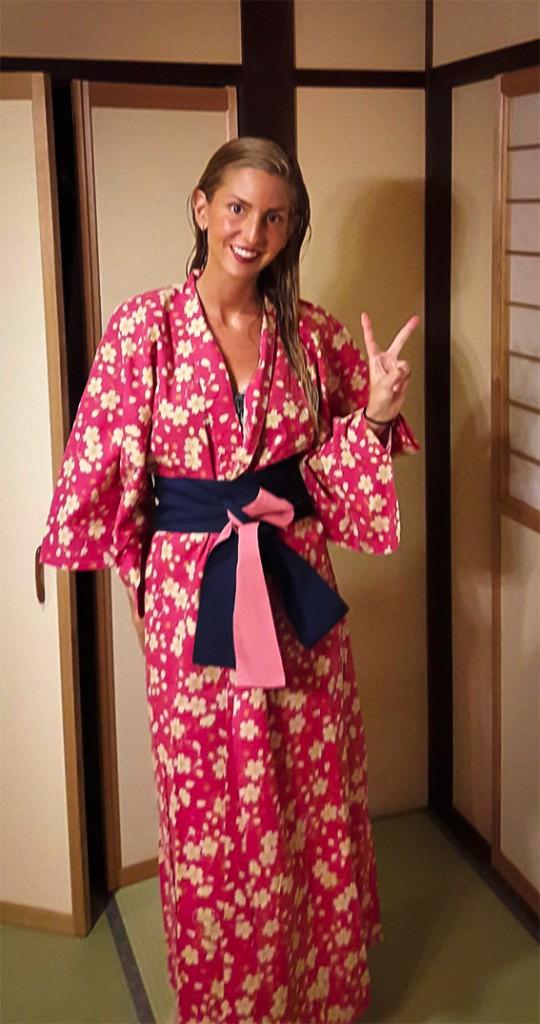 Yukata tradicional