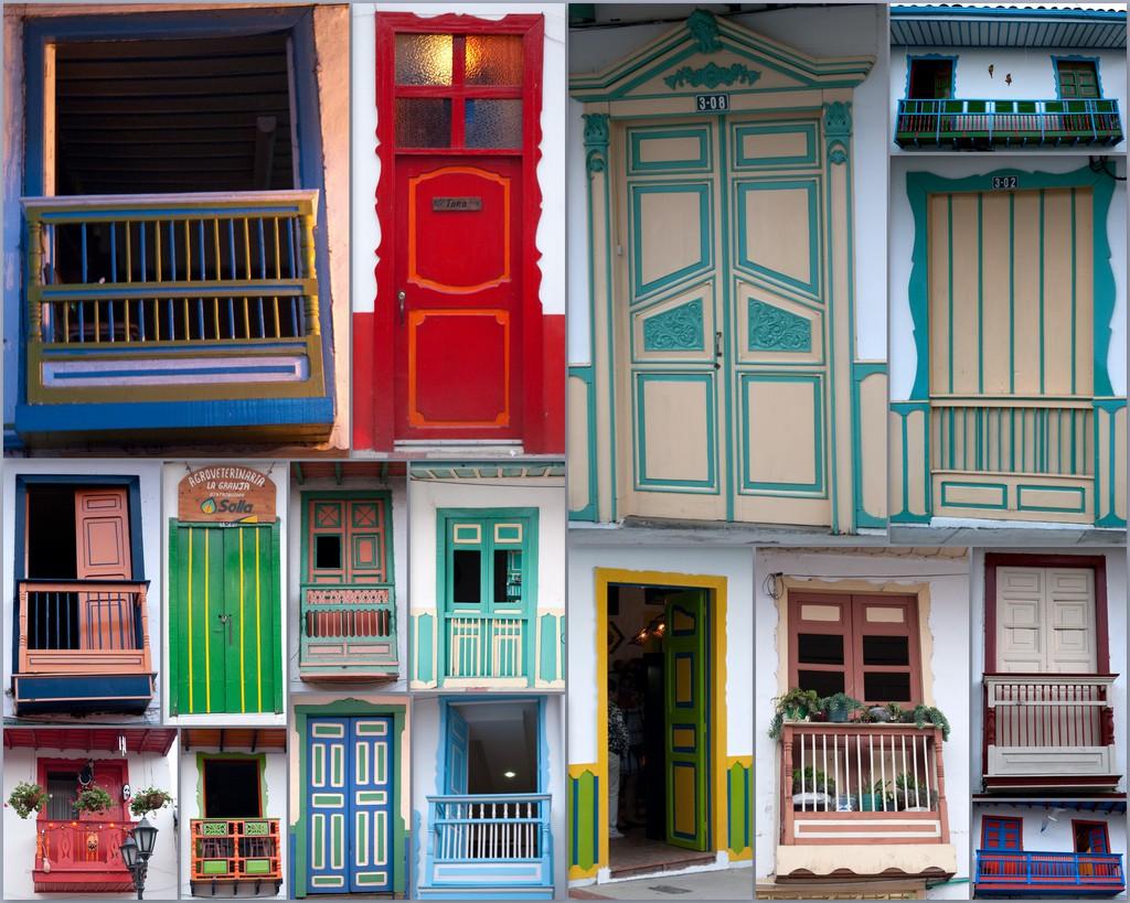 Balcones y portones centenarios en Salento