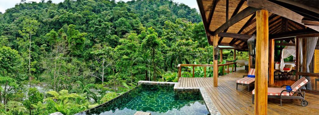 Eco Lodge en mitad de la jungla, Costa Rica