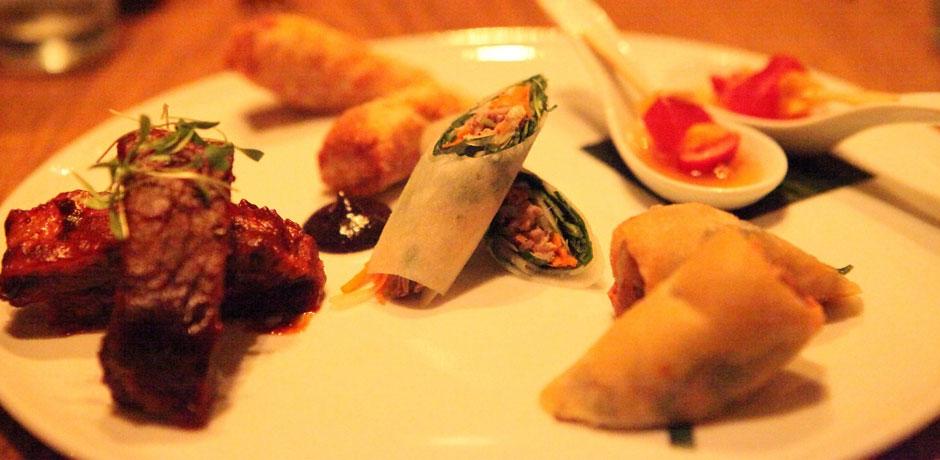 Cocina fusión asiática en el restaurante Buddakan