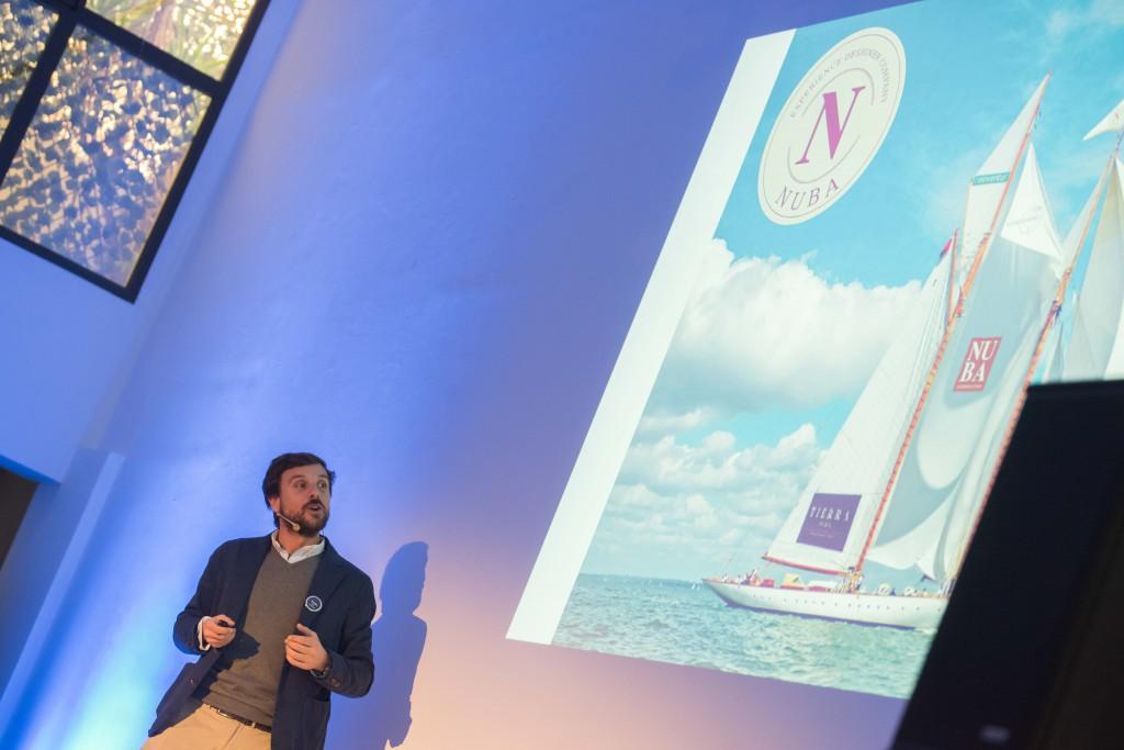 Daniel Puertas, Director Comercial del Grupo NUBA, en la convención Vientos de Cambio 2017