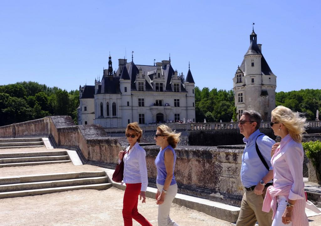 Descubriendo el castillo de Chenonceau