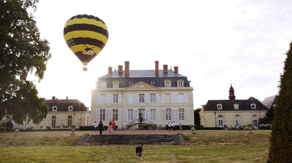 Paseo en globo en Loira