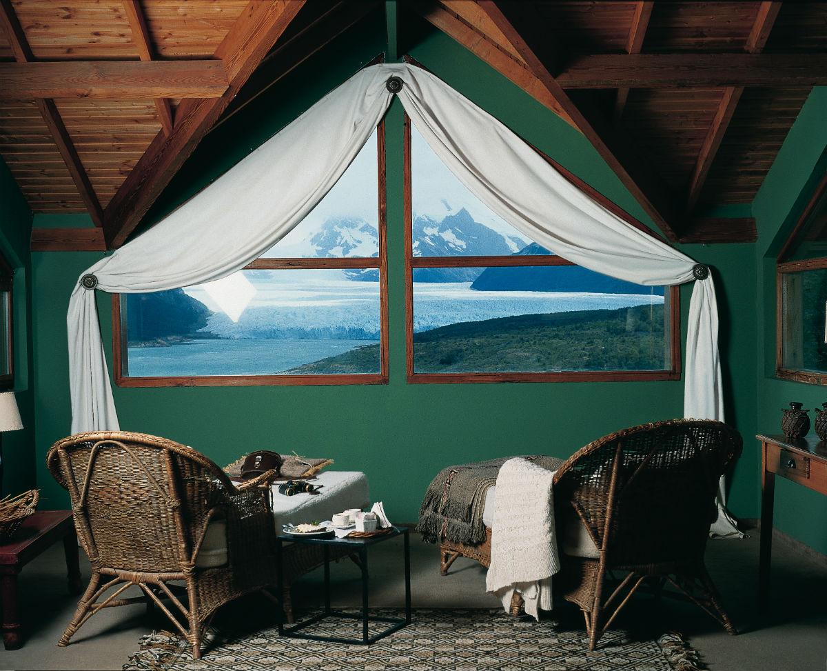 Hotel exclusivo con vistas a Patagonia