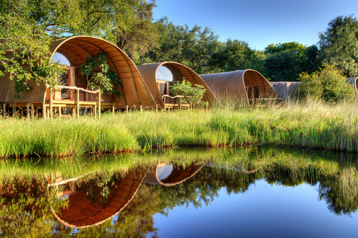 Hotel Lodge exclusivo en Botswana