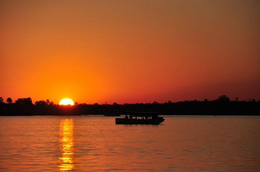 Puesta de sol Zimbabwe