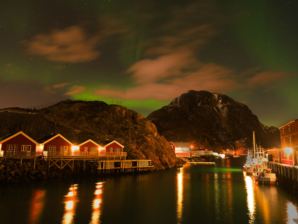 artico noruego aurora boreal nuba