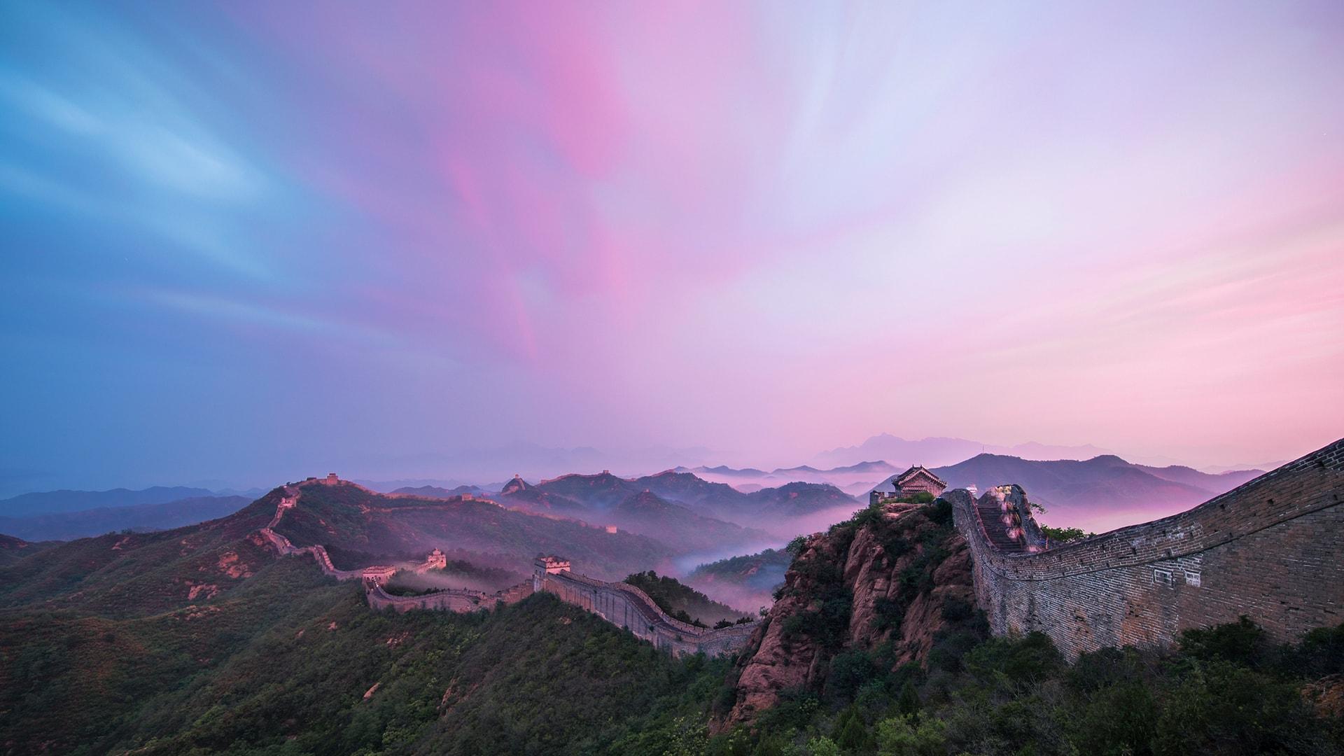 El paisaje de China