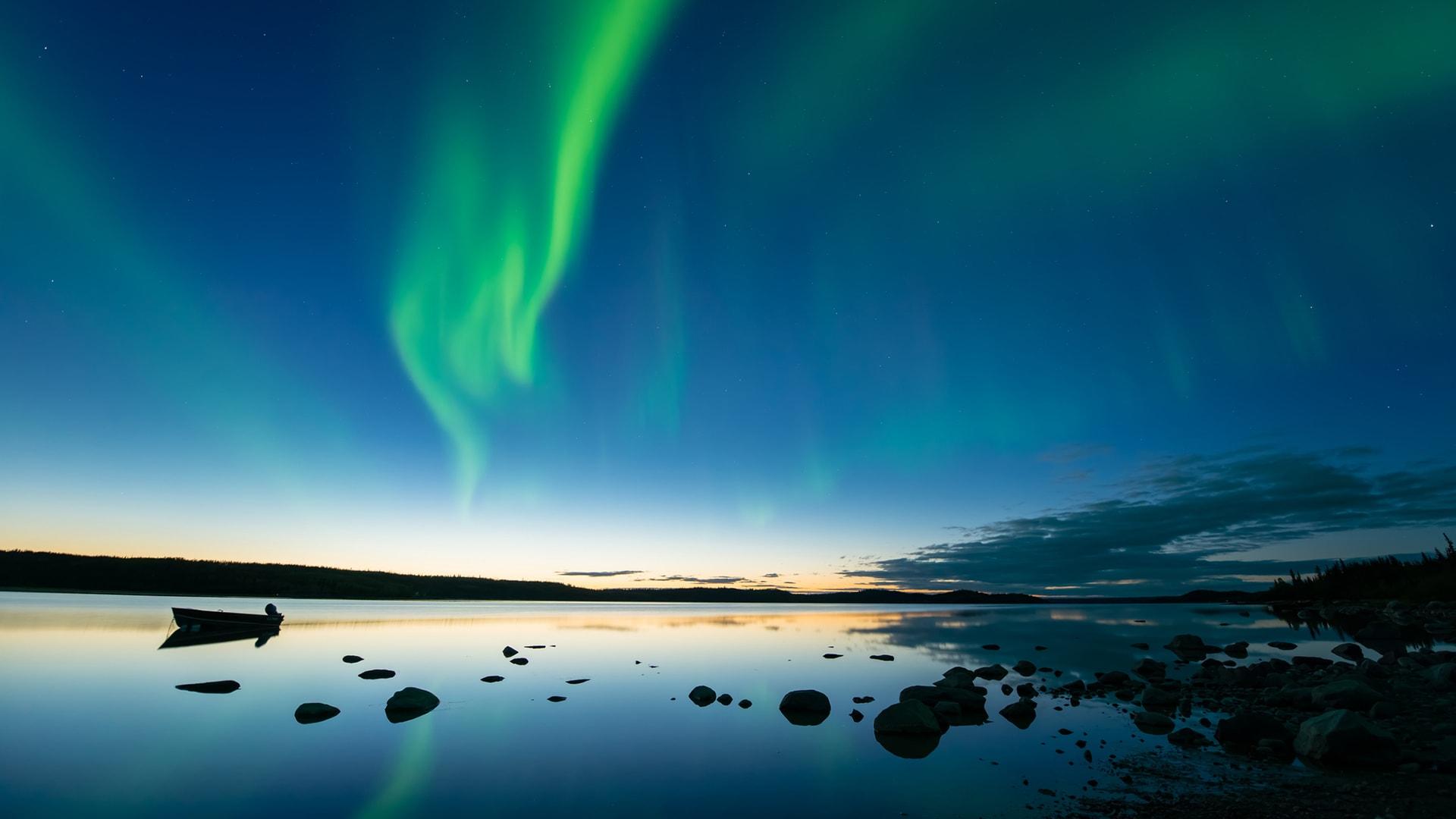 Viaje a Finlandia para ver las auroras boreales